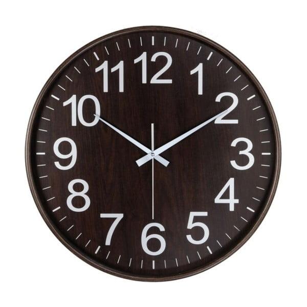Nástěnné hodiny Dark Wood Classic, 53 cm