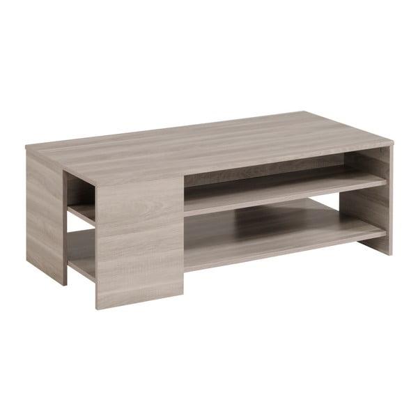 Konferenční stolek v dekoru dubového dřeva Parisot Bergerac