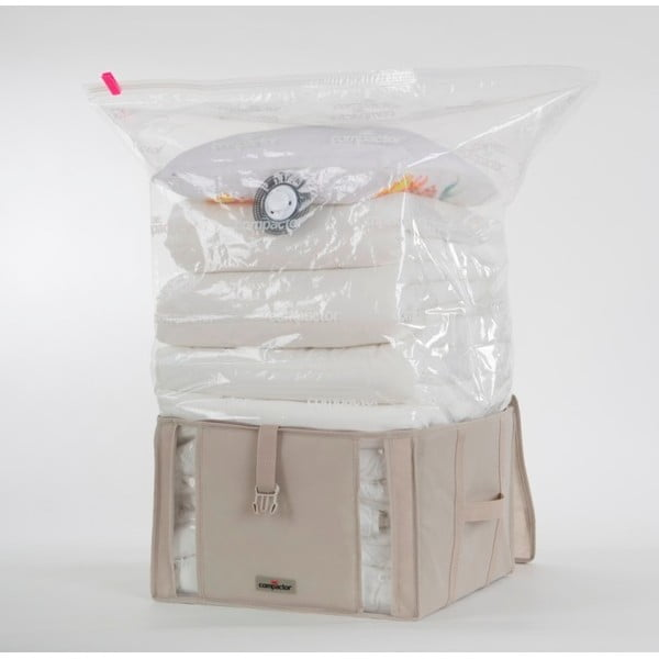 Box s vákuovým obalom Compactor Life, 40×25×42cm