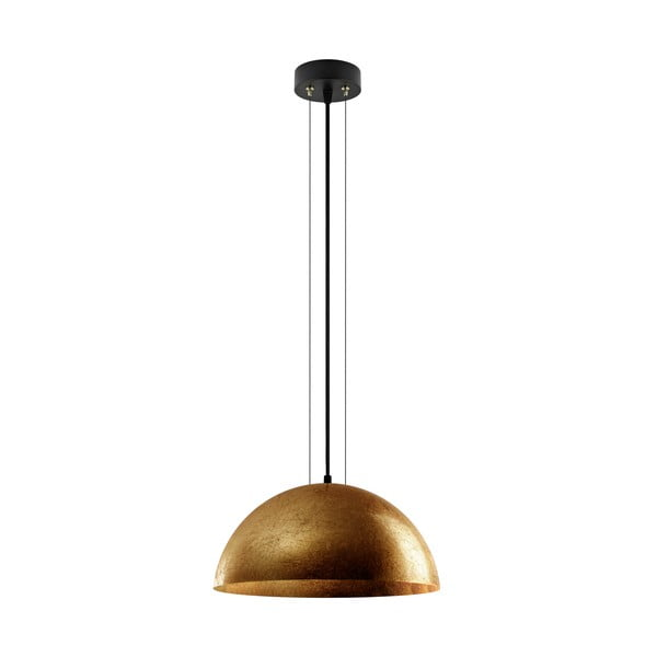 Zlatá závěsná lampa Bulb Attack Cuatro L
