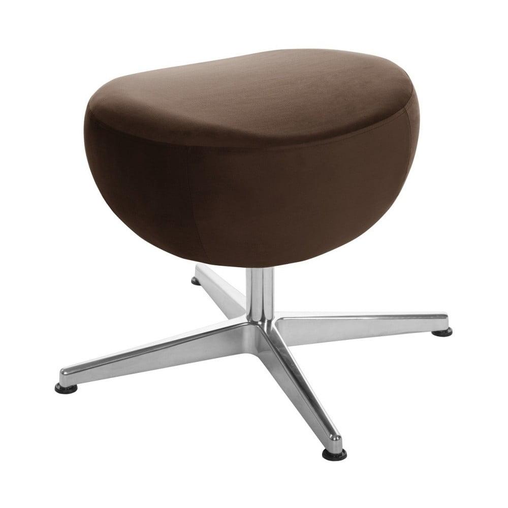 e2d4d8f39d39 Tmavě hnědá otočná stolička podnožka My Pop Design Monory