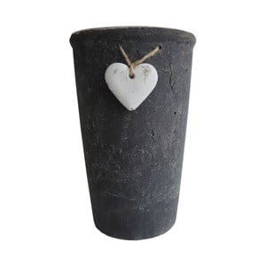 Květináč Stardeco Heart, 25 cm