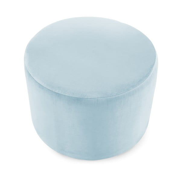 Bledě modrý puf Vivonita Jade