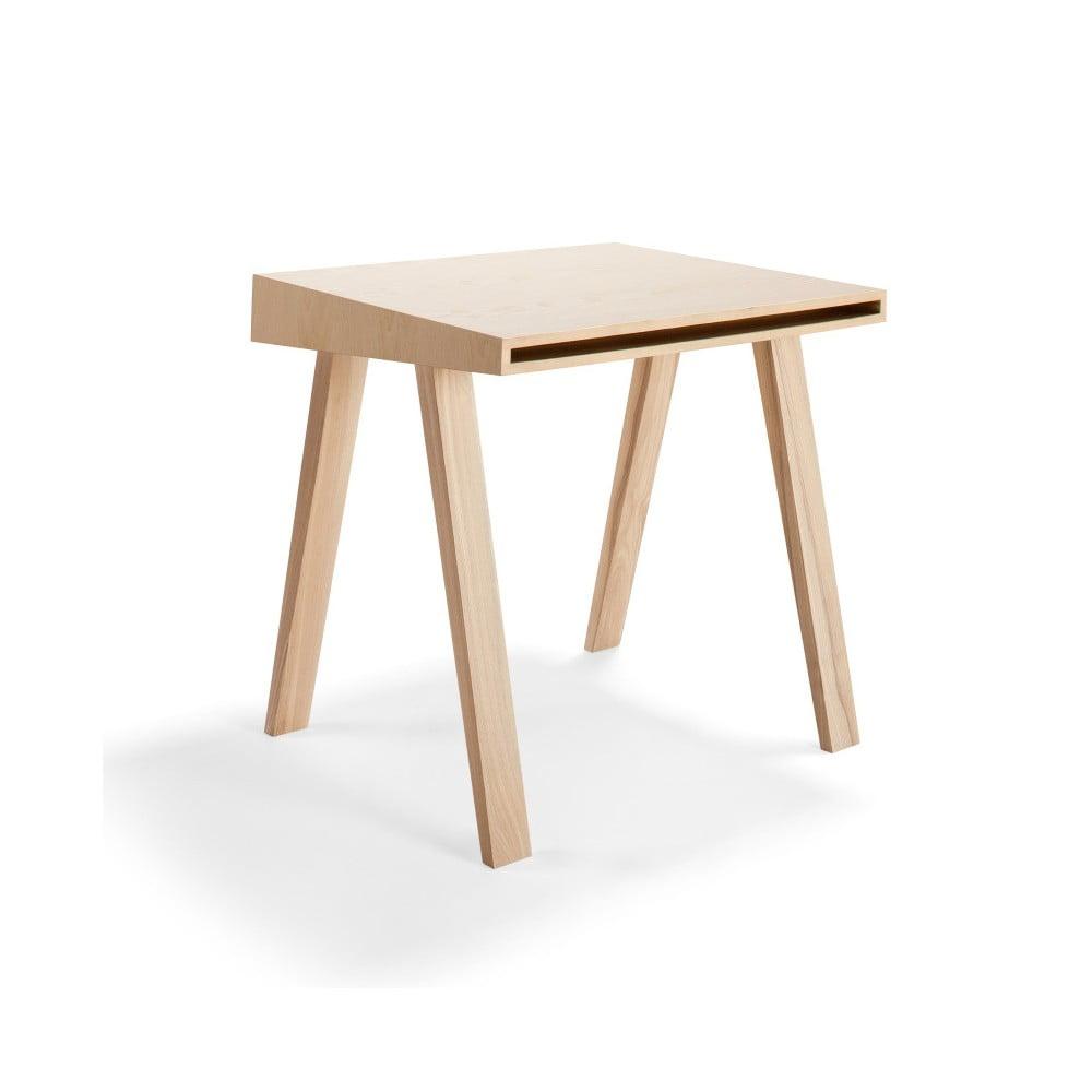 Psací stůl EMKO 4.9, 1 šuplík, evropský jasan