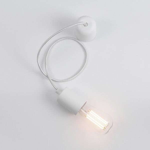 Bílý závěsný kabel Bulb Attack Cero