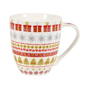 Hrnek z kostního porcelánu Churchill China Caravan Snowflake, 500 ml