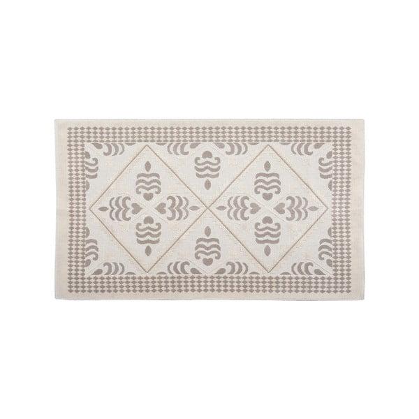 Bavlněný koberec Flair 60x90 cm, krémový