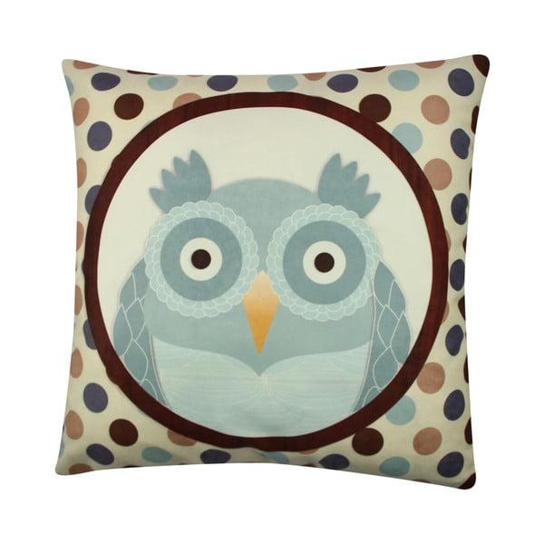Polštář Owl No. 4, 43x43 cm