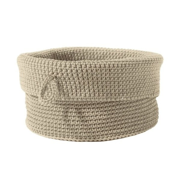 Košík Confetti Sand, 19 cm
