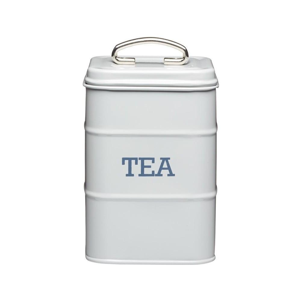 Šedá plechová dóza na čaj Kitchen Craft Nostalgia