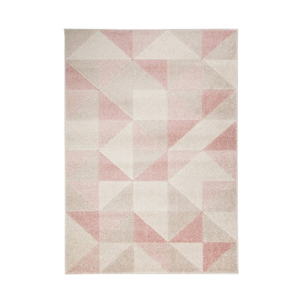 Covor Flair Rugs Urban Triangle, 100 x 150 cm, roz