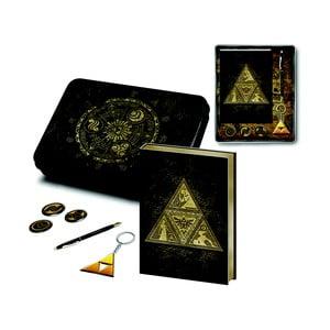 Sada kancelářských potřeb, zápisníku a penálu Pyramid International The Legend Of Zelda