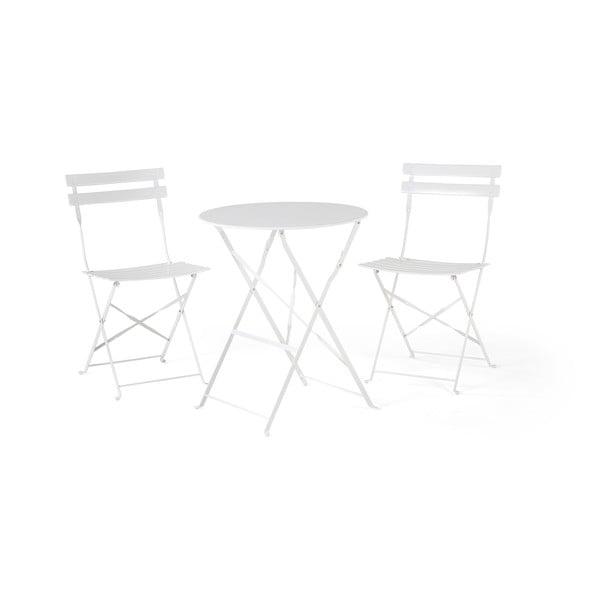 Set mobilier de grădină Monobeli Retro, alb