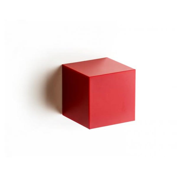 Nástěnný box QUALY Pixel Box, červený