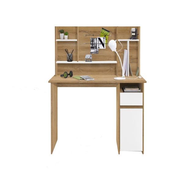 Pracovní stůl v dekoru dubového dřeva 13Casa Brio