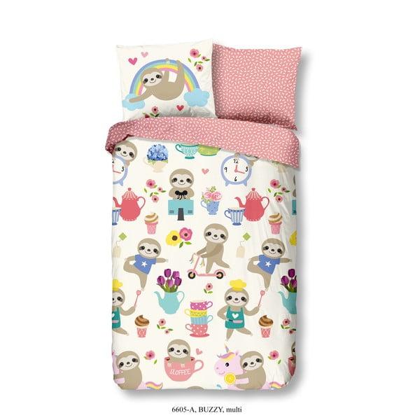 Detské bavlnené obliečky na jednolôžko Good Morning Buzz, 140 × 200 cm