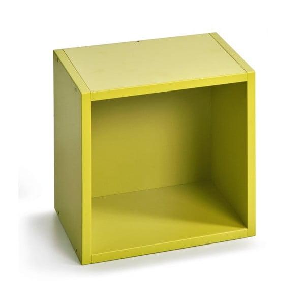 Úložný box (vhodný ke knihovnám), zelený