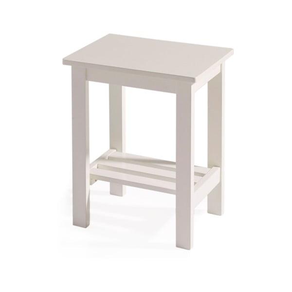 Odkládací stolek Kaos White