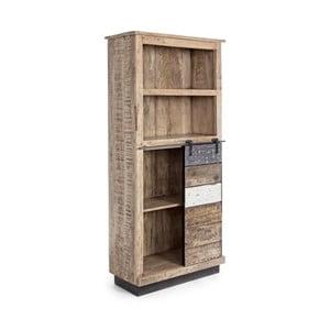 Bibliotecă din lemn de mango Bizzotto Tudor