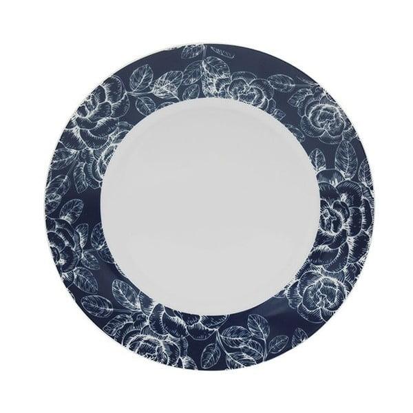Dezertní talíř Tognana Blue Garden