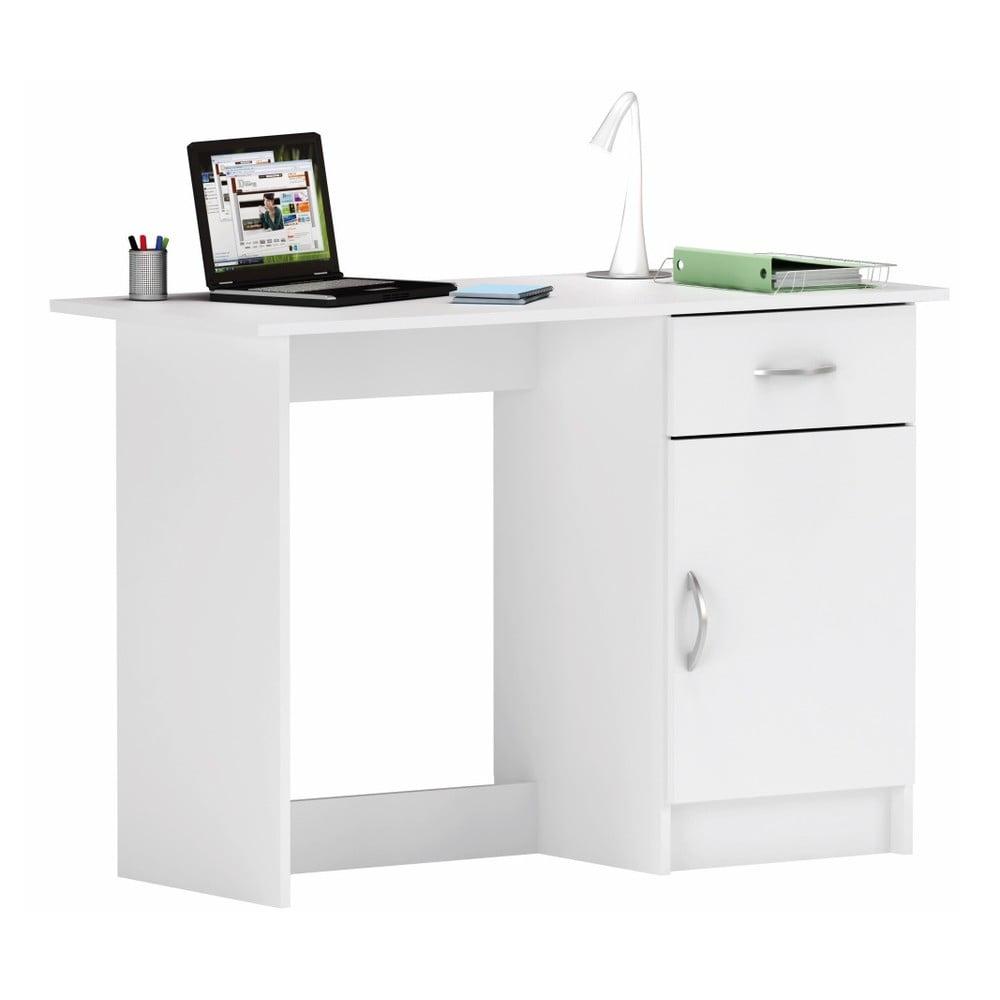 Bílý pracovní stůl Osiris