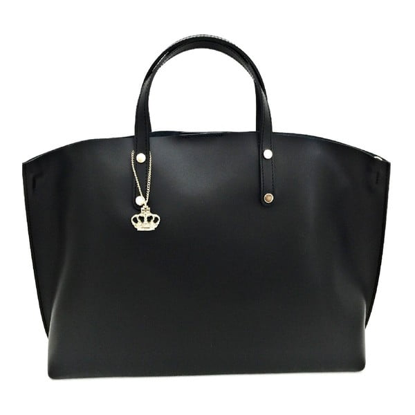Kožená kabelka Cassia Black