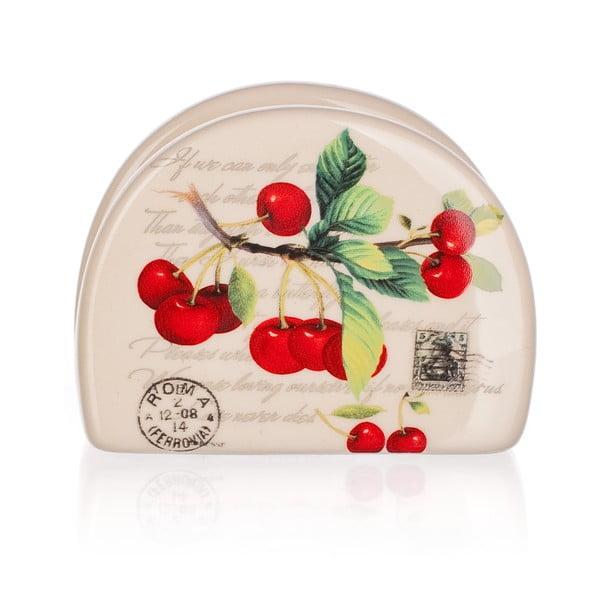 Keramický stojánek na ubrousky Banquet Cherry