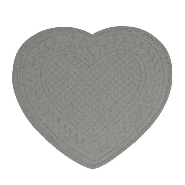 Set 6 bavlněných prostírání Dark Heart, 30 cm