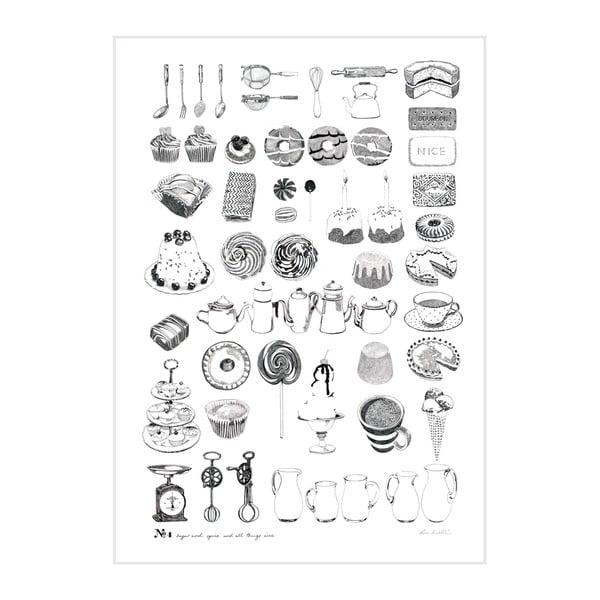 Plakát Sugar And Spice, 30x40 cm
