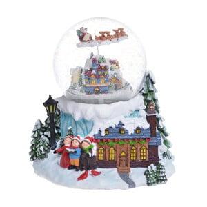Hrající sněžítko Ewax Snowy Village