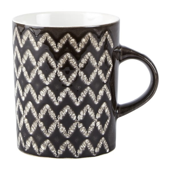 Sada 3 černých hrnků Galzone Mug