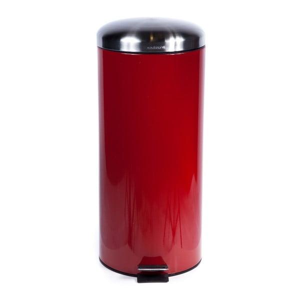 Odpadkový koš Sabichi Pedal Red, 30 l