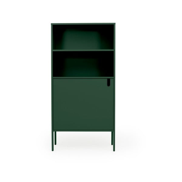 Tmavě zelená skříň Tenzo Uno, šířka 76cm