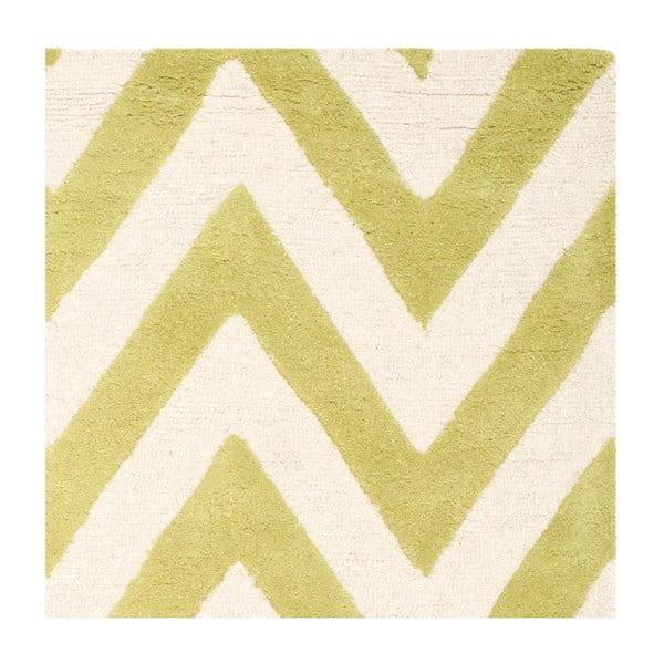 Vlněný koberec Stella Grass Green, 182x274 cm