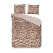 Bavlněné povlečení Mundotextil Brick,140x200cm