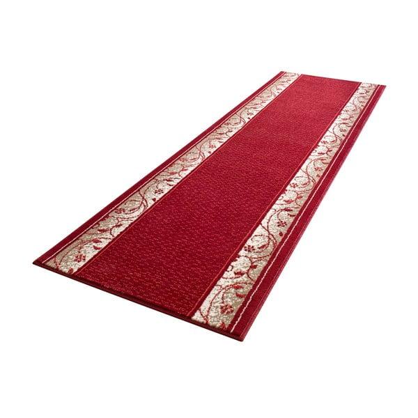 Koberec Basic Elegance, 80x500 cm, červený