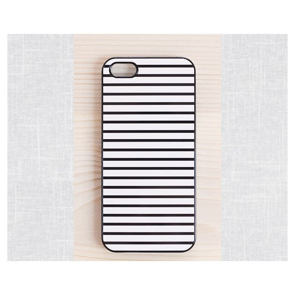 Obal na Samsung Galaxy Sa, Clasic Stripes/black