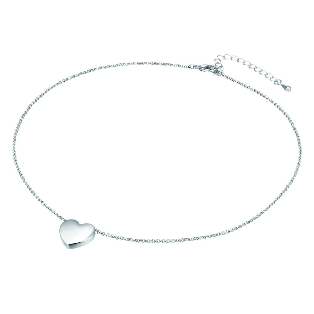 fa406b2c5 Dámský náhrdelník stříbrné barvy Tassioni Lily | Bonami
