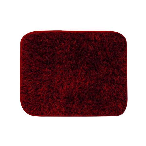 Koupelnová předložka 50x60 cm, červená