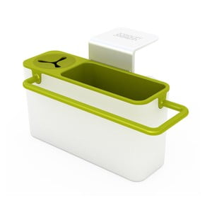 Suport pentru burete de vase/ detergent, alb/ verde