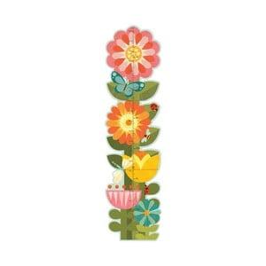 Dětský nástěnný metr Petit collage Garden Flowers