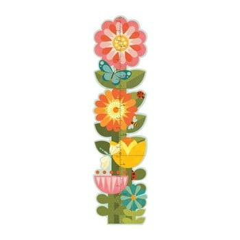 Metru pentru copii Petit collage Garden Flowers