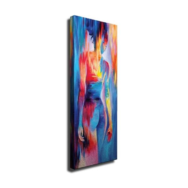 Tablou pe pânză Woman, 30 x 80 cm