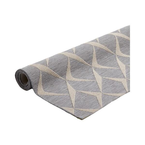 Covor foarte rezistent Floorita Rete Silver, 130 x 190 cm