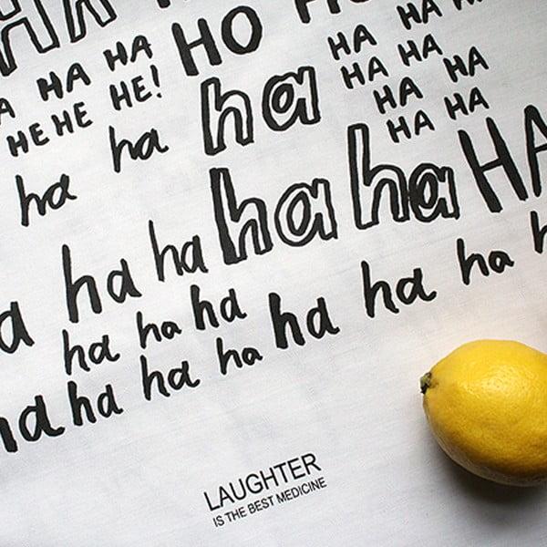 Utěrka Karin Åkesson Design Laughter, 48x78 cm
