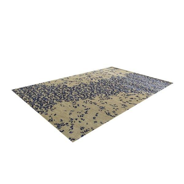 Vlněný koberec New Jersey Dark Blue, 122x183 cm