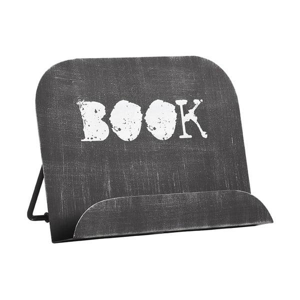 Černý kovový stojan na knížku LABEL51