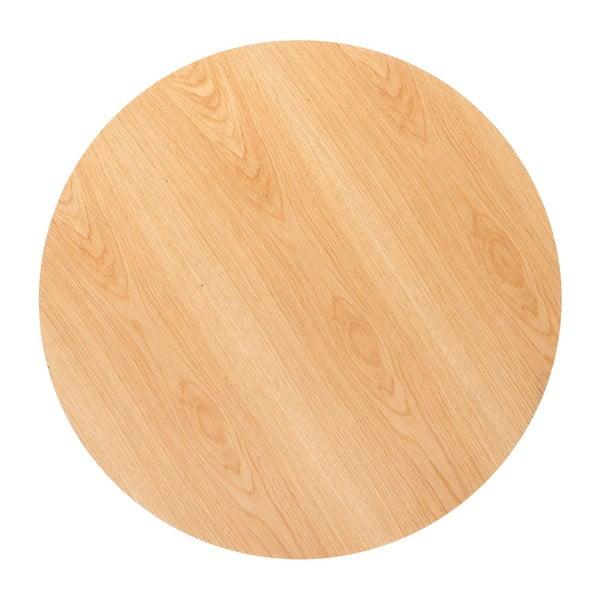Deska jídelního stolu v dubovém dekoru Kare Design Invitation, ⌀ 90 cm
