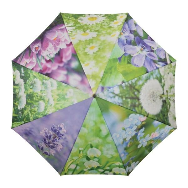 Deštník s květinami Ego Dekor, ⌀ 120 cm