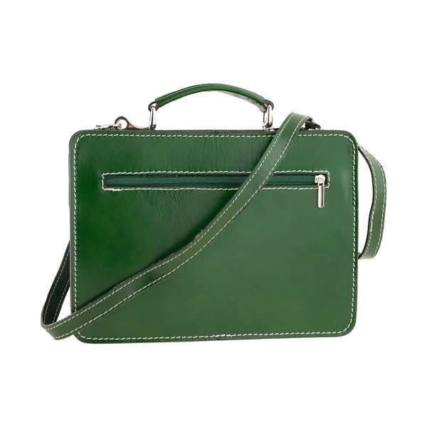 Kožená taška Ore Diece Perugia, zelená